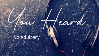 No Adultery