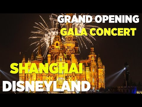 Shanghai Disney Resort Grand Opening gala concert highlights
