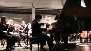 Chopin Concerto No. 1 by George Li (15 yr)