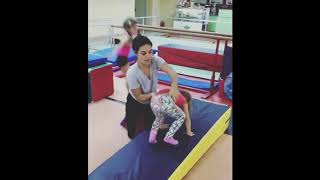 Gymnastics beginner classes ( Gymnastics for children )