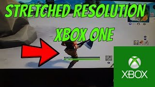 **HOW TO PLAY FORTNITE SEASON 7 ON STRETCHED RESOLUTION ON XBOX ONE (WORKING 2019)