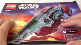 Lego Star Wars - UCS Slave 1 (75060) Review (обзор)
