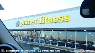 Hodgetwins Visit Planetfitness To Reminisce About Old Times.... @hodgetwins