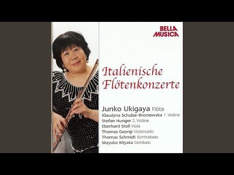 Konzert für Flöte, Streicher und Basso Continuo in G Major: II. Adagio