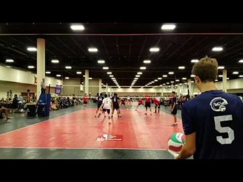 SCVA Youth Int'l - vs - Team Canada Yth Men - 2016 HP Championships Volleyball - DiegoNick