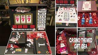 DIY *CASINO Themed* Slot Machine Gift Idea