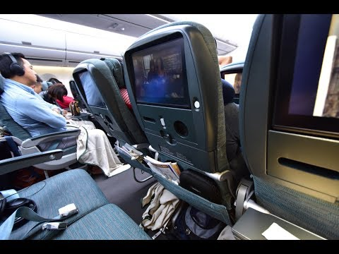 Economy Class   Cathay Pacific CX135 Hong Kong to Melbourne Airbus A350-900 (Review #41)