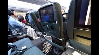 Economy Class | Cathay Pacific CX135 Hong Kong to Melbourne Airbus A350-900 (Review #41)