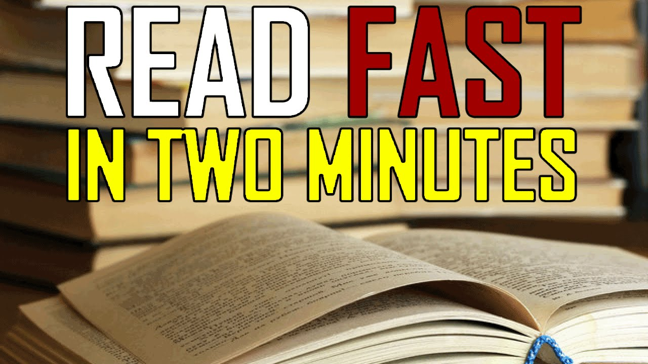 How to learn to read quickly 81