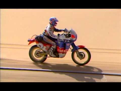 Dakar 1987 - Duel Auriol - Neveu
