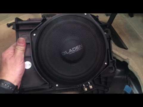 BMW S5 F10 ; Proceso instalación y ajuste de Equipo de sonido Gladen-Moscni