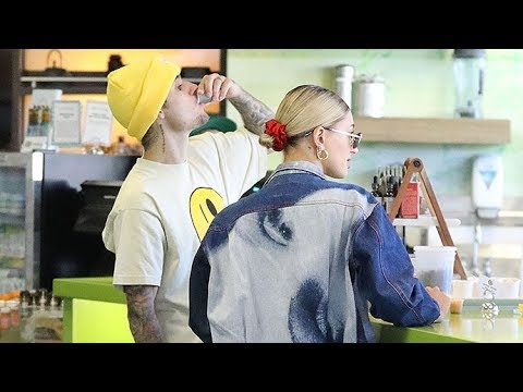 Justin Bieber And Hailey Baldwin Take Shots thumbnail