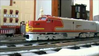Williams Electric Trains Santa Fe ALCo PA 1