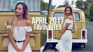 APRIL FAVOURITES 2017 ✩ Fashion, Beauty, Music + more