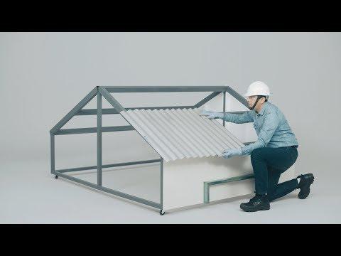 Cómo instalar un techo con lámina Ternium Zintro Alum en 5 pasos