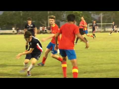 Cameron Robertson soccer clips 2017 yellow circle and number 10