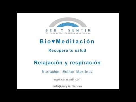 Relajación y respiración guiada - Esther Martínez de Ser y Sentir de Granollers