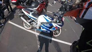 GSXR 750, fête de la moto, merci la FFMC