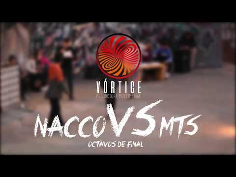 NACCO vs MTS 8vos fecha 4: (liga 2018) KOLISEO FREESTYLE
