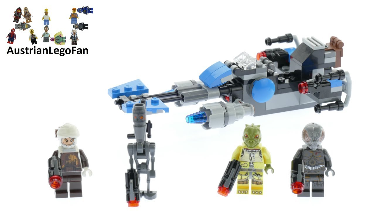75167 LEGO Star Wars Bounty Hunter Speeder Bike Battle Pack 2017