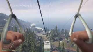 GTA V : Atterrir sur une nacelle du mont Chiliad (PS4)