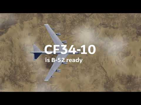 GEs CF34-10 for B-52