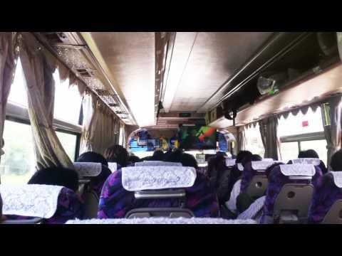 Myanmar Bus Yangon-Bagan  : LISTEN TO THE MUSIC!!