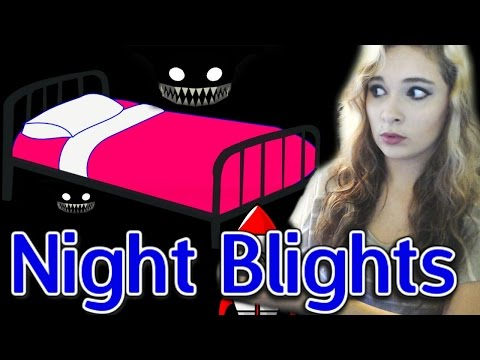 Night Blights: CREEPY LITTLE MONSTERS UNDER THE BED! w/Facecam - Walkthrough/Playthrough/Gameplay -