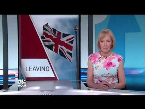 PBS News Hour: EU Referendum Reaction - 24th June 2016