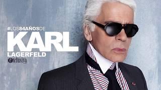 Karl Lagerfeld cumple 84 años