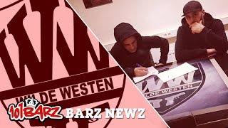 Chillouh tekent bij Wilde Westen - Barz Newz