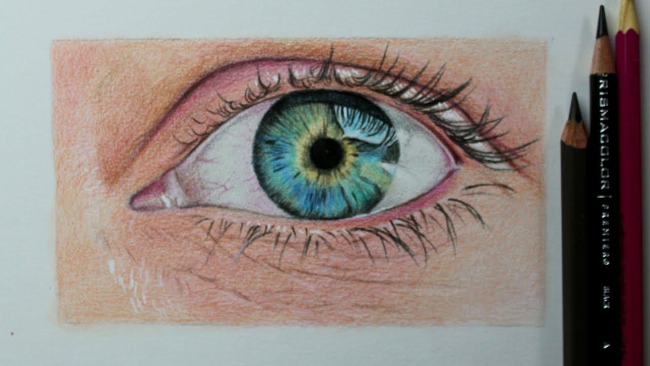 Como Desenhar Um Olho Realista Passo A Passo Comentado