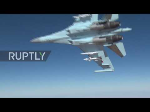 Syria: Russian air force targets IS & Al-Nusra in Syria with cruise missiles