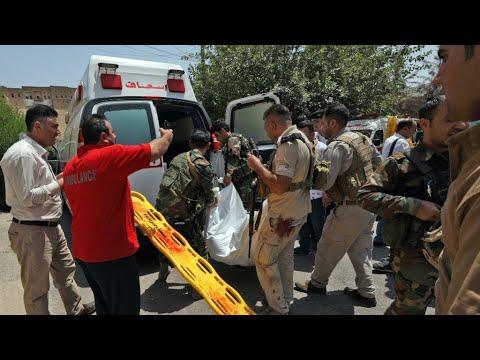 كردستان العراق: مصرع ثلاثة مسلحين وموظف إثر هجوم استهدف مبنى محافظة أربيل  - نشر قبل 2 ساعة