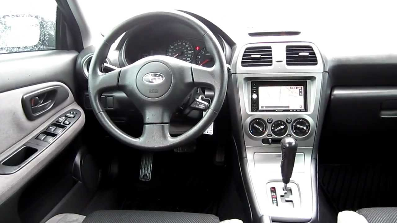 2007 subaru impreza blue stock 12409p interior youtube. Black Bedroom Furniture Sets. Home Design Ideas
