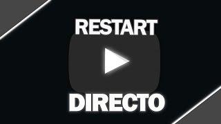 DIRECTO DE YOUTUBE RESTART! - LuzuVlogs