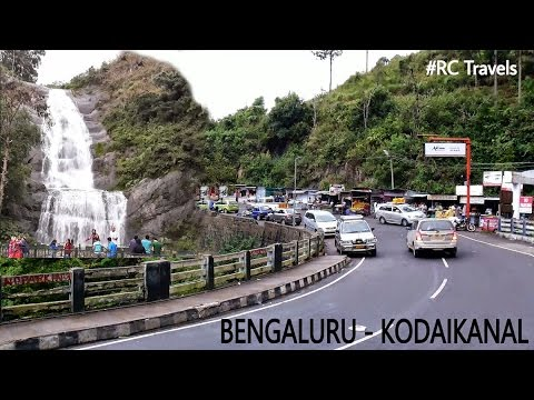 Bengaluru To Kodaikanal Road Trip| Silver Cascade Falls|#RCTravels Kodaikanal| Part 1