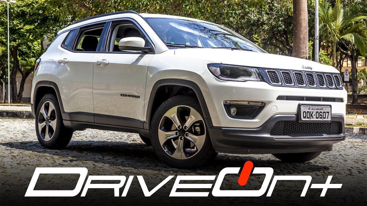 Jeep Compass Longitude 2 0 Flex Driveoncars Avaliacao Youtube