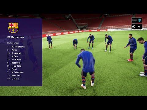 Sesi Percubaan Beta PES 2022 - New Football Game Online Performance Test