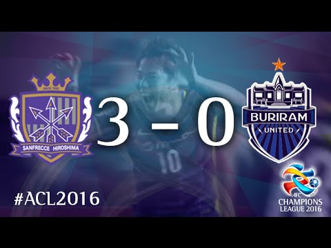 SANFRECCE HIROSHIMA vs BURIRAM UNITED: AFC Champions League 2016 (Group Stage)
