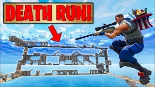 THE DEATH RUN on Fortnite Battle Royale