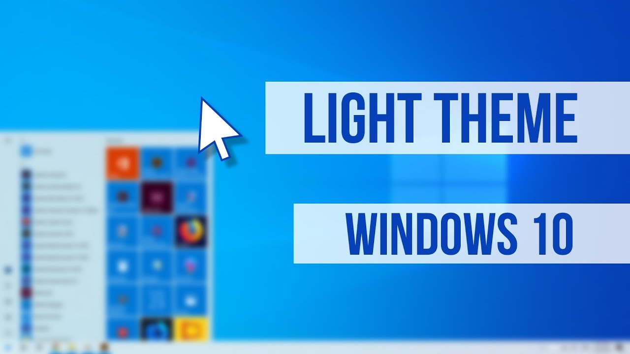 How to Enable Light Theme in Windows 10