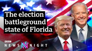 US election: Could Florida's retirees decide the next president? - BBC Newsnight
