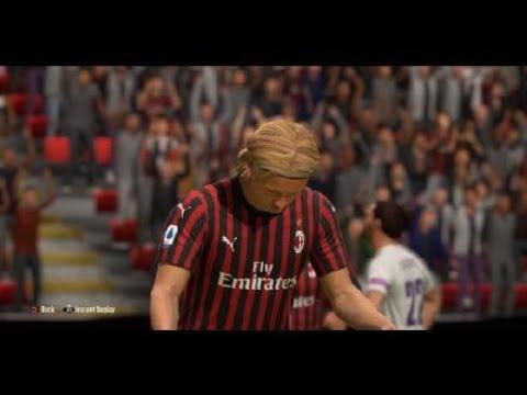 FIFA 20 Kasper Dolberg Strike - YouTube