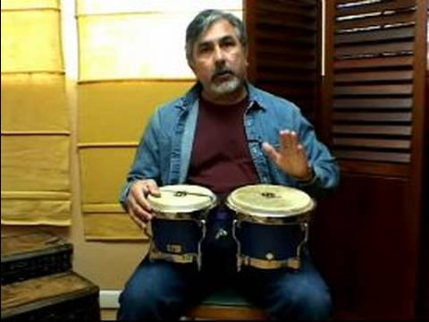 Bongo Drum Music Lessons : How to Play Bongo Drum Beats ...