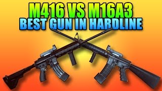 Best Gun In Battlefield Hardline - M16A3 vs M416