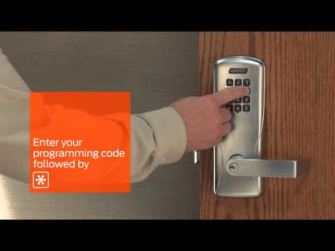 Electronic Locks | CO-Series How To Manage Your CO-100 With Manual Programming