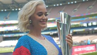 ICC Women's World Cup T20: Pop Superstar Katy Perry at the World Cup Final - Australia v India