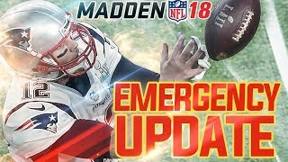 Madden NFL 18 Update: Franchise Trade Fix!