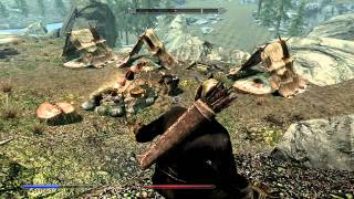 Skyrim Tutorial: How to Level up Destruction, Restoration, and Archery to  Level 100